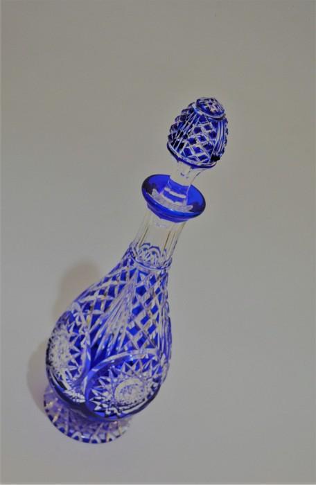 Blue Crystal Bottle