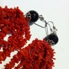 Earrings Coral Silver