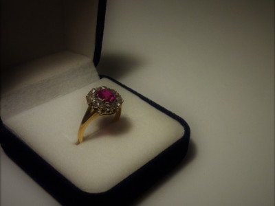 Ruby Gold Ring