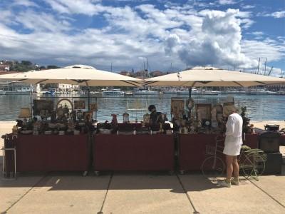 Fair on Trogir Riva