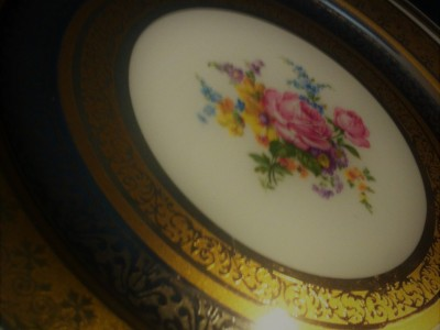 Antique Bohemia Plate