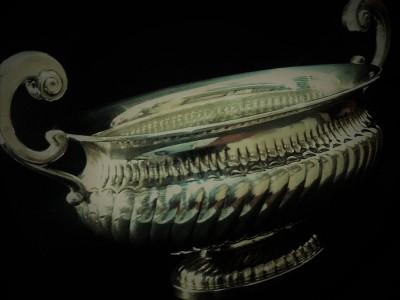 """Silver Bowl """"Greggio Rino"""""""