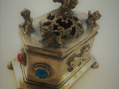 Judaica Silver Box Balsamide