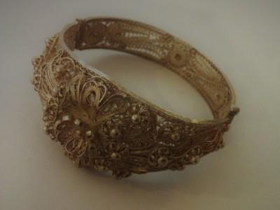 Filigree Silver Bracelet