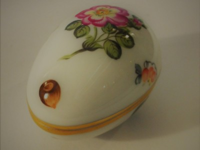 Herend Porcelain Egg