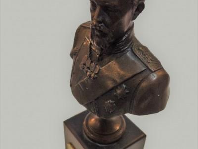 Bust of Russian Emperor Nicholas II