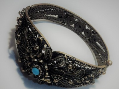 Bracelet Filigree Turquoise