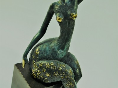 Bronze Female Figure