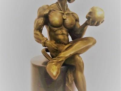 Devil Sculpture