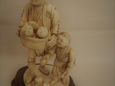 Antique Ivory Sculpture