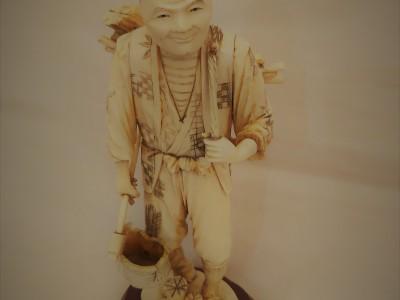 Antique Ivory Lumberjack