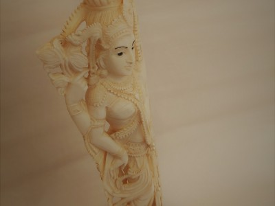 Goddess Lakshmi Ivory