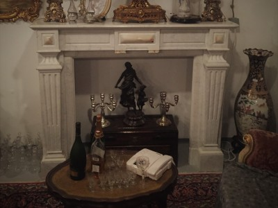 French Fireplace Louis XVI