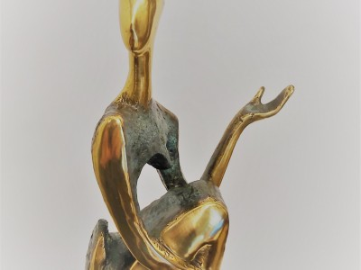 """The Sitting One II"" Sculpture"