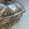 Etrog Box Silver