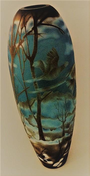 Galle Style Vase
