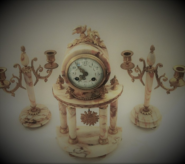 French Clock Vincenti & Cie 1855