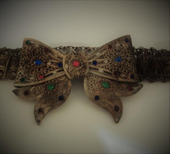 Female Filigree Belt
