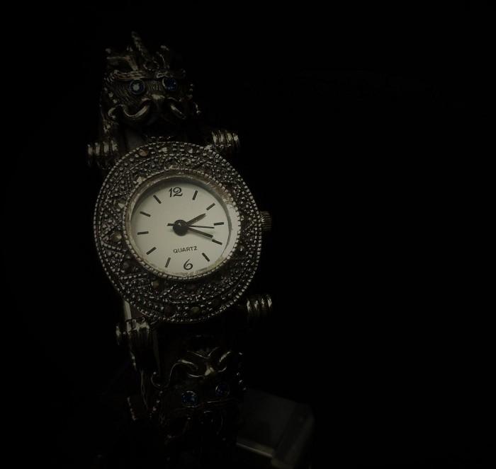 Silver Dragon Watch