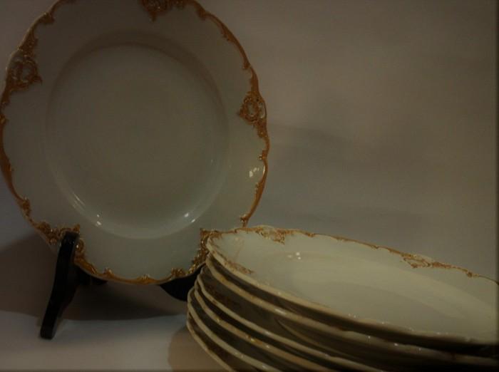 Antique Meissen Dinner Plates
